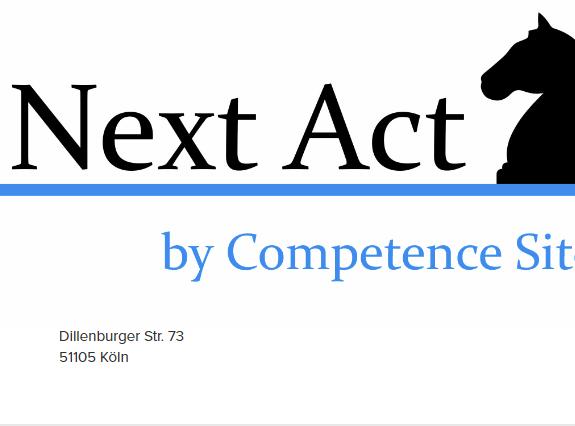 Rückblick auf die #NextAct