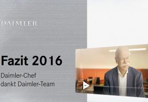 Veränderungen beim Daimler! Der Jahresrückblick von Dieter Zetsche