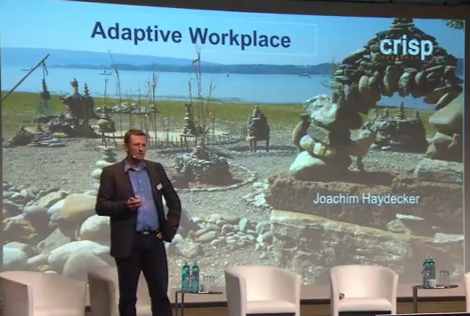 Vortrag: Adaptive Workplace (Crisp Perspective 2015)