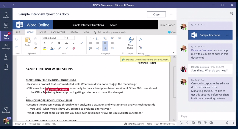 Microsoft stell das neue Microsoft Teams vor