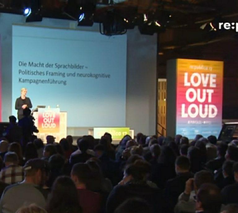 Elisabeth Wehling: Die Macht der Sprachbilder? #framing