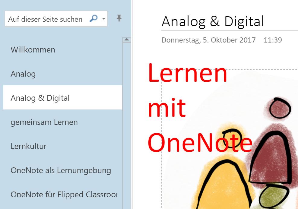 OneNote (und Skype) als Lernplattform